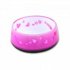 All For Paws Cat Bowl Pink