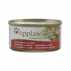 Applaws Cat Chicken and Duck 156g tin