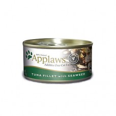 Applaws Cat Tuna and Seaweed 156g tin