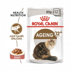 Royal Canin Cat Ageing 12+ years Wet Food Box (12 pouches)