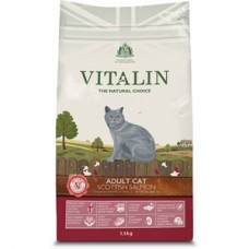 Vitalin Cat Adult Scottish Salmon 1.5kg