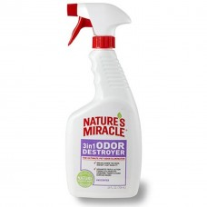 Natures Miracle 3 in 1 Cat Odor Destroyer - Lavender