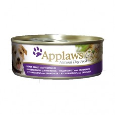 Applaws Dog Chicken and Vegetables 156g tin
